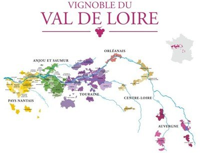 A tourists' guide to Loire Valley Wines
