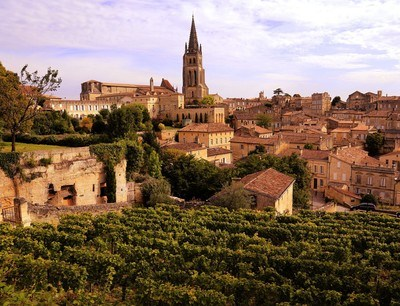 Saint Emilion vineyards produce some of the best wines in the world